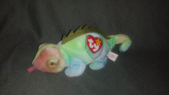 Check out this item in my Etsy shop https://www.etsy.com/listing/285443447/iggy-iguana-ty-original-beanie-baby