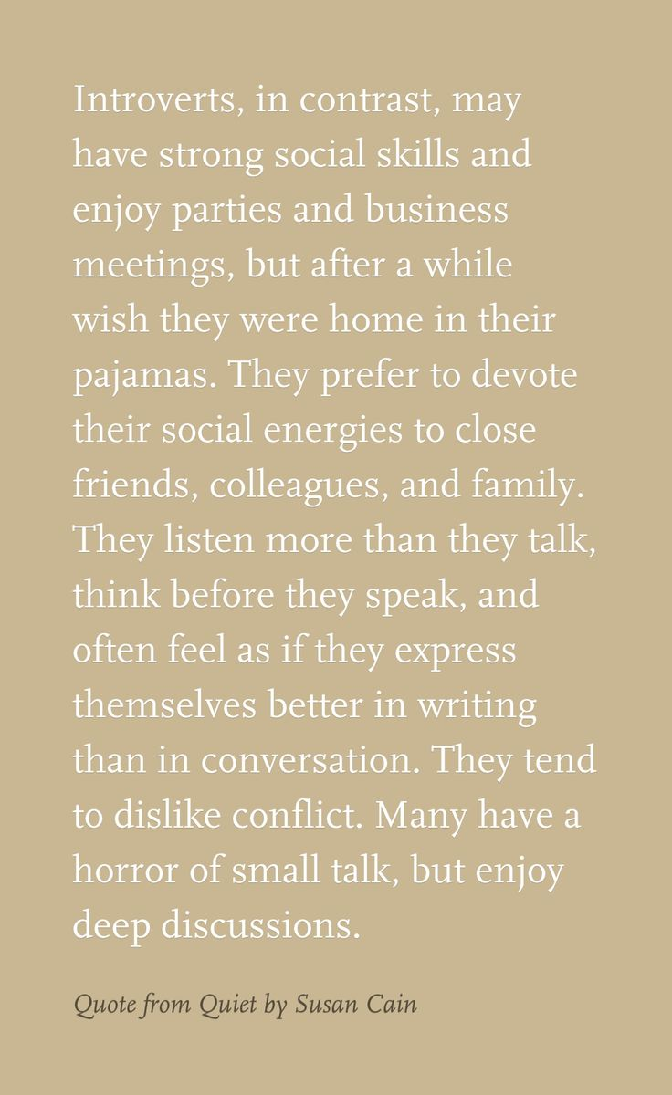 "Wow this is so me. A professional actually once told me in casual conversation that I'm an ""outgoing introvert"". Describes me perfectly!"