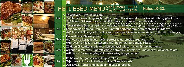 Ideális Rendezvényhelyszín! Minden nap minőségi, változatos ebéd menü! A menü, B menü, Prémium menü, XXL menü, Vegetáriánus menü. Ingyenes ebéd házhoz szállítás a VI.-VII. kerületben. Rendelés: 720-3328, +36 30 9000 550