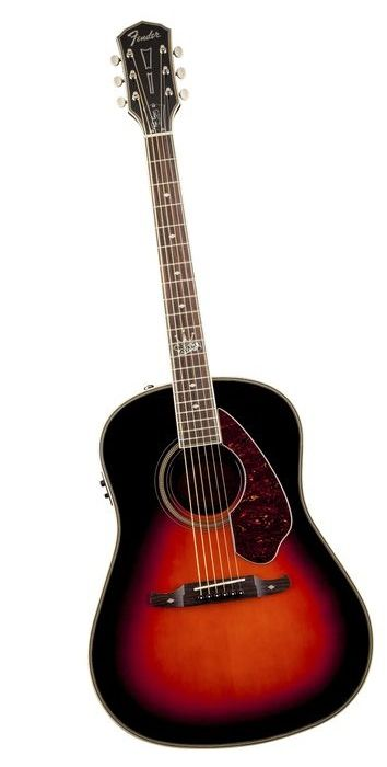 Fender Ron Emory Loyalty Slope Shoulder Acoustic-Electric Guitar Vintage Sunburst (via Musician's Friend)