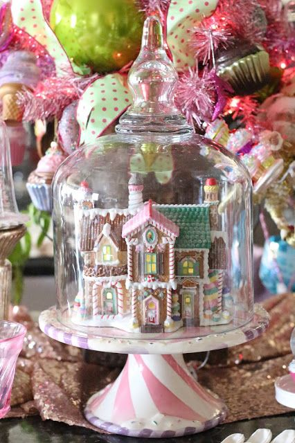Christmas Tea with Grandma -  @luckyw Purple Chocolat Home #DIDI
