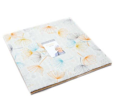 Modern layer cake | Fragile by Zen Chic for Moda | patchwork fabric | quilters cotton by QuiltAroundTheClock on Etsy https://www.etsy.com/au/listing/537482285/modern-layer-cake-fragile-by-zen-chic