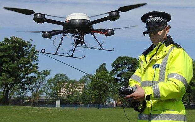 UK police forces want to use drones to search for missing people