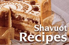 shavuot dairy tradition