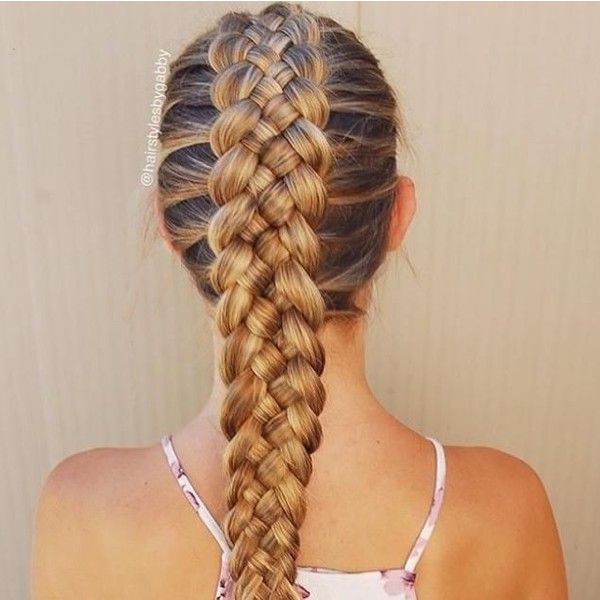 6 Awesome Braided Hair Trends Hairstyle Mag ❤ liked on Polyvore featuring accessories and hair accessories