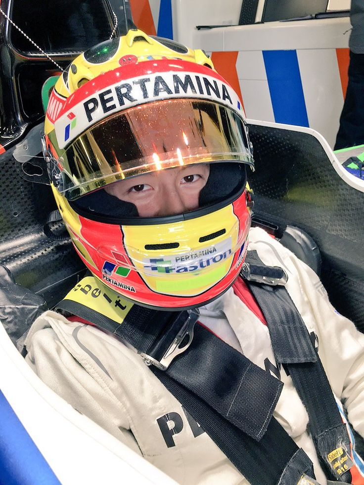 Rio Haryanto, first time out in Formula One