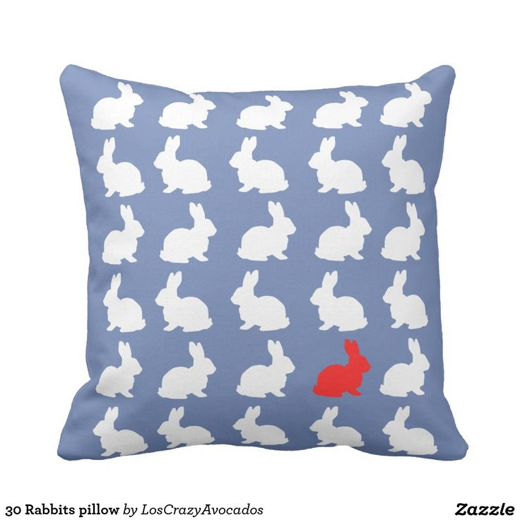 30 Rabbits pillow