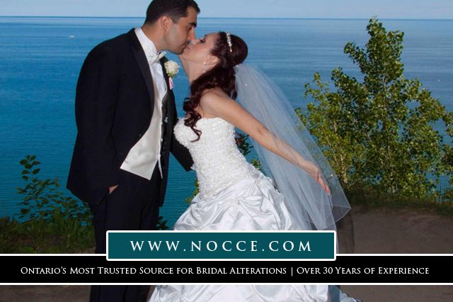 Most reliable tailoring for Brides & Bridesmaids in Mississauga area: Nocce Bridal Alterations #NocceBridalAlterations #BridesmaidDressAlterations #seamstress #BridalGown