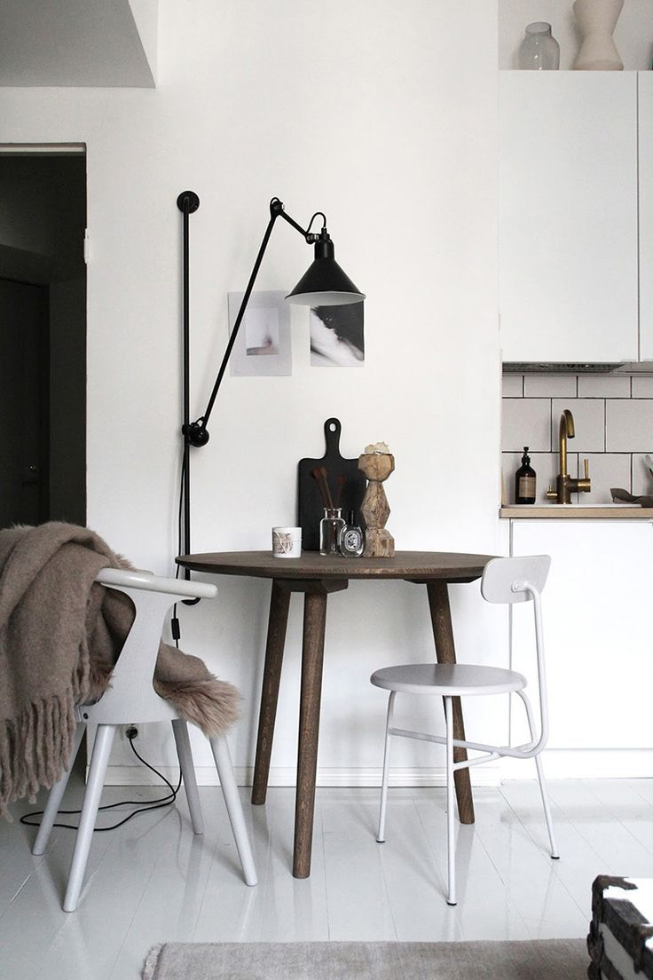 A Cool Way To Light A Dining Room Without A Ceiling L