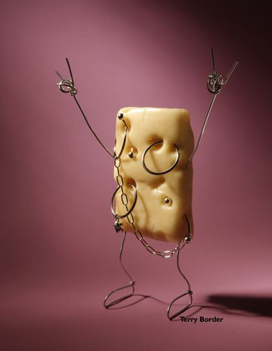 bad cheese - bent objects art by Terry Border