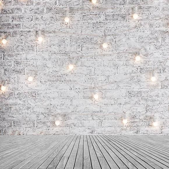 Old White Brick Wall Lights Photography Backdrop S 2919 Brick Wall Backdrop Wall Backdrops Brick Wall Background