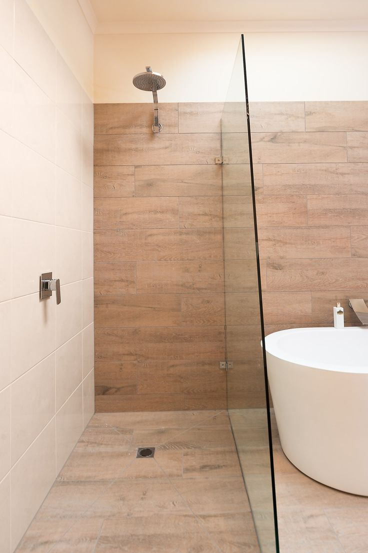 You may have heard of ceramic look timber tiles, wondered how they look in situ? Let's take a look at Jacqui's new bathroom in Belmont and the beautiful work of tiling contractor Michae…