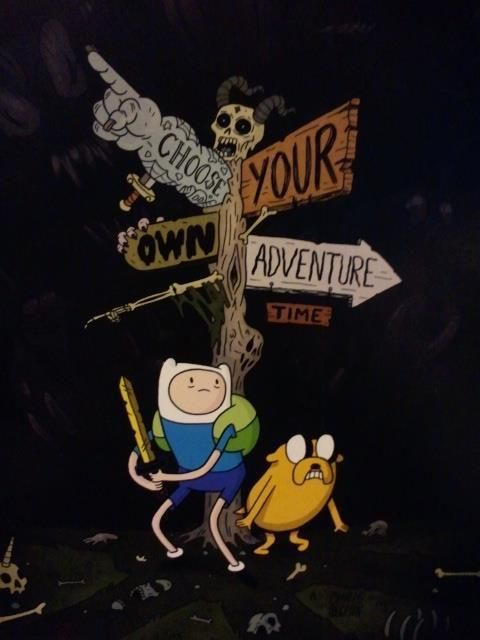 Choose your own Adventure Time