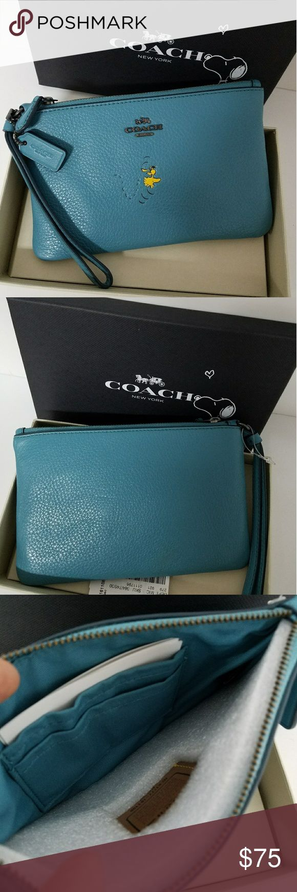 Coach Snoopy Wallet New With Tag and Box  PRICE IS FIRM No TRADE Coach Bags Wallets