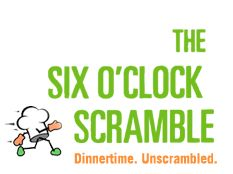 The Six O'Clock Scramble: I have found four simple strategies to help busy parents like me cook four to six nights per week, and actually save time and money by doing so.  It may sound challenging (I know, because I used to think so too!), but with a little preparation and practice, making healthy and delicious homemade dinners can be even easier, faster and cheaper than ordering take-out.