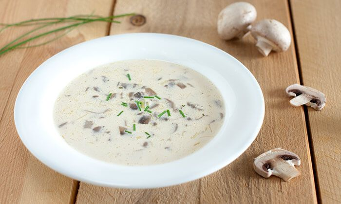 Low Calorie Dinner Recipes - Creamy Wild Rice And Mushroom Soup