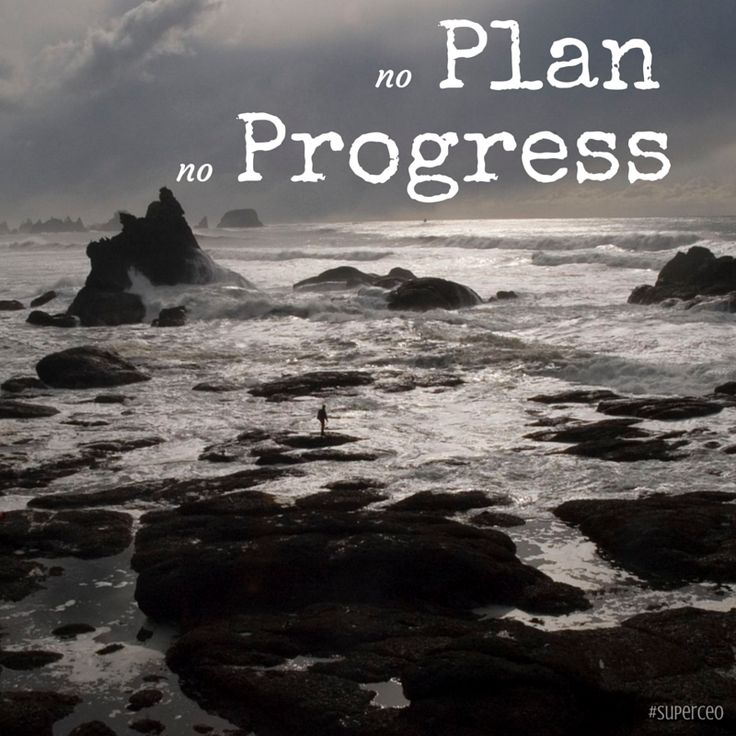 It feels empowering to lay tracks for the year. Remember: No Plan, No Progress.