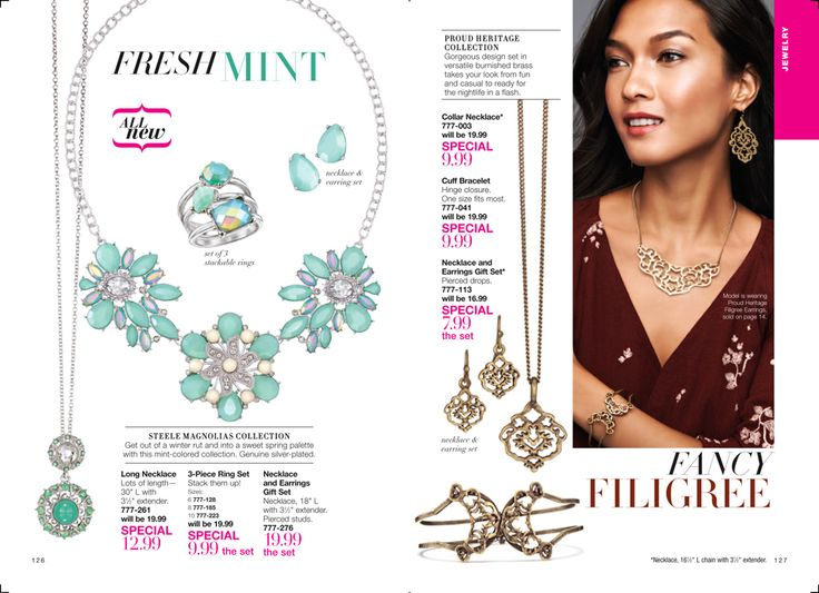 Best Jewelry Images On   Brochures Avon Products And