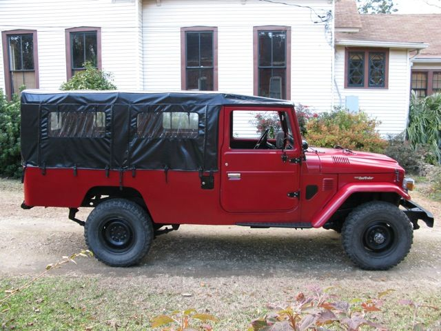 1981 Toyota Land Cruiser FJ45 Soft Top Troop Carrier - FJ40 Toyota Land Cruisers, Land Rovers and Classic Cars for Sale at C-A-R-S.COM