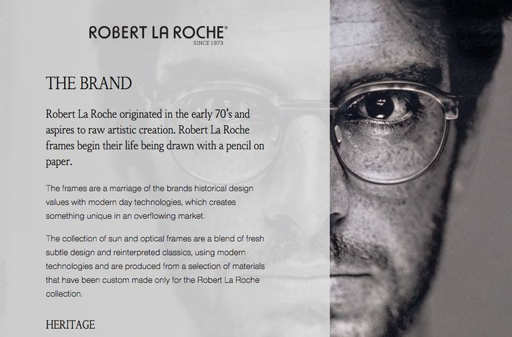 About Us inspiration with Robert La Roche Listical
