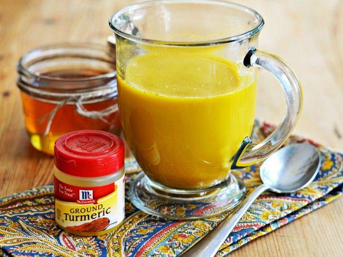 смесь куркумы с мёдом