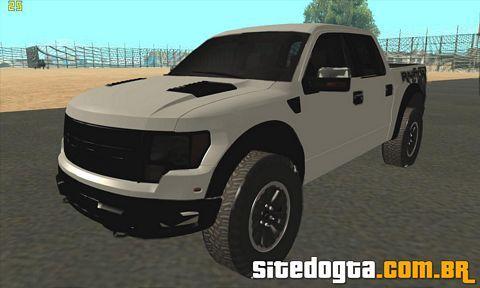Ford Raptor Crewcab 2012 para GTA San Andreas