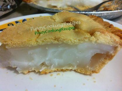Buko Pie - PinoyCookingRecipes