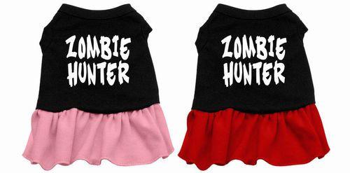Dog halloween costume - Zombie Hunter Dog Dress