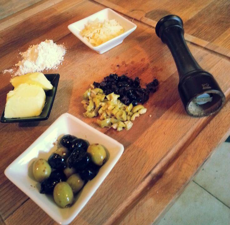 A La Petite Olive: Les sablés apéritifs de La Petite Olive