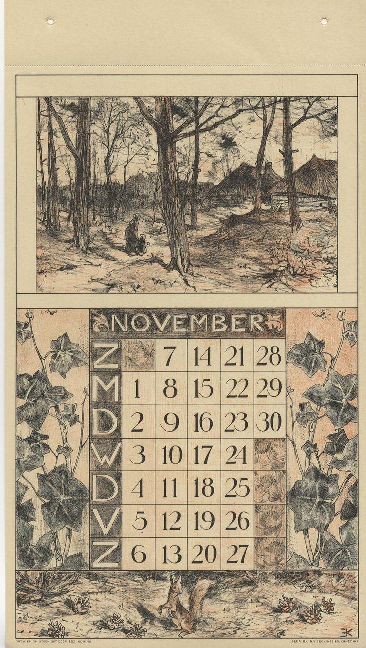 Nunspeetje boerenhuisjes langs de bosrand rond de maand klimop en een eekhoorn.