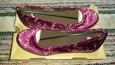 Dr. Martens 'Marie' Velvet Flat Lady's Shoes Size: UK 7 EU 41 NEW WITH BOX