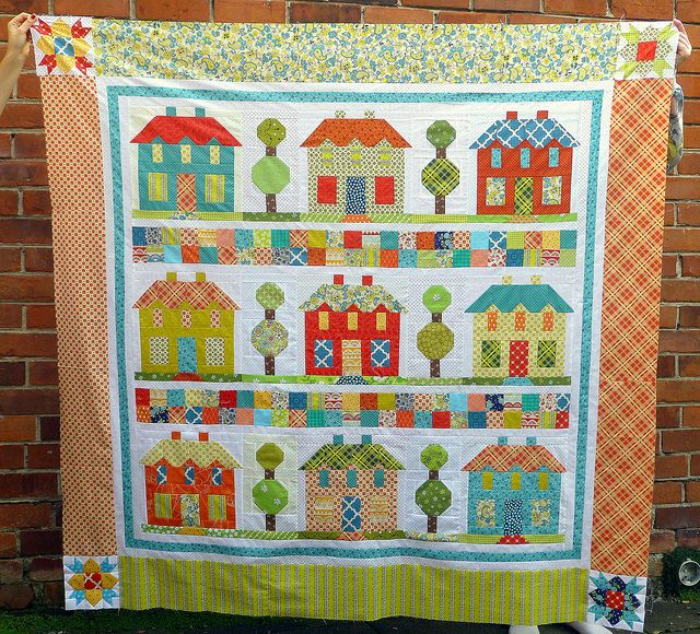 Farmhouse Lane Quilt top