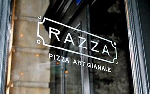 Razza Pizza Artigianale Logo, The O Group