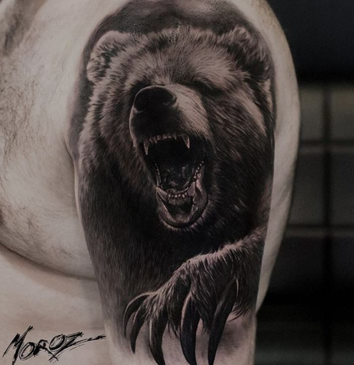 первый что означает картинка медведя оказалось