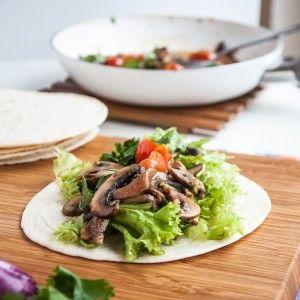 Healthy Vegan Mushroom Tacos - Vegan Family Recipes