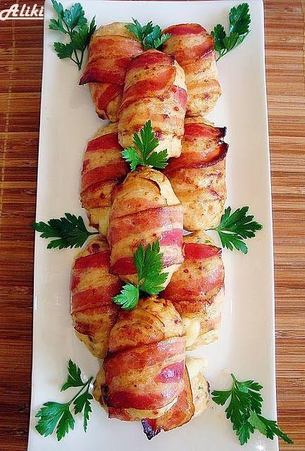 Μυρωδιές και νοστιμιές: Ρολάκια κοτόπουλου στον φούρνο