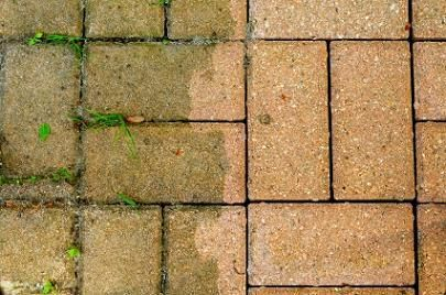 How to clean brick (especially outdoors)