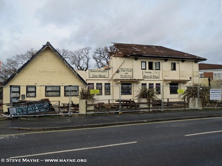 No Good Intent for Horndean's Colonial Bar – Demolition in Progress