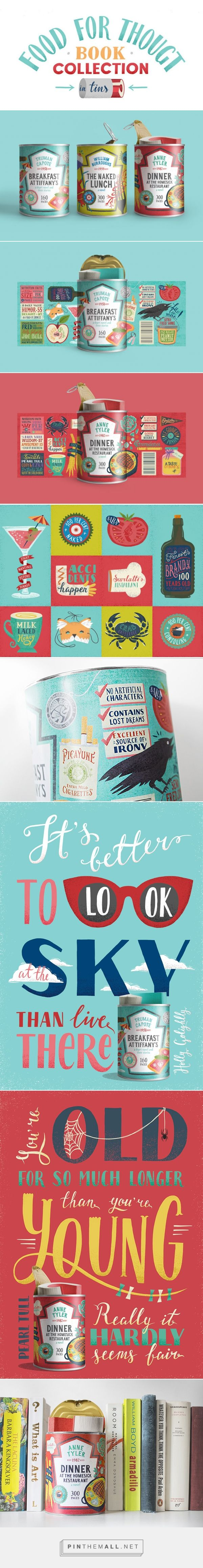 Food for Thought #Books #Concept #packaging designed by Maria Mordvintseva-Keeler - http://www.packagingoftheworld.com/2015/03/food-for-thought-books-concept.html