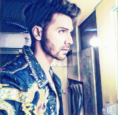 The most gorgeous man in the world #varun #leather #gorgeous