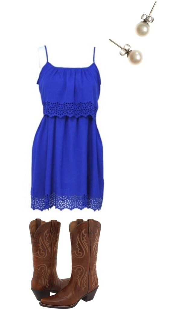 """OOTD: COUNTRY CONCERT"" by bootsbowandbooze ❤ liked on Polyvore"