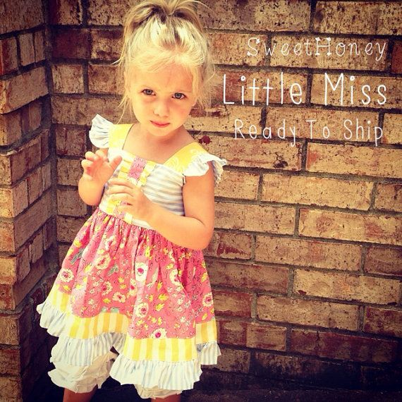 3f3b3630f SweetHoney Little Miss Dress Ready to ship Girls by SweetHoney2 ...