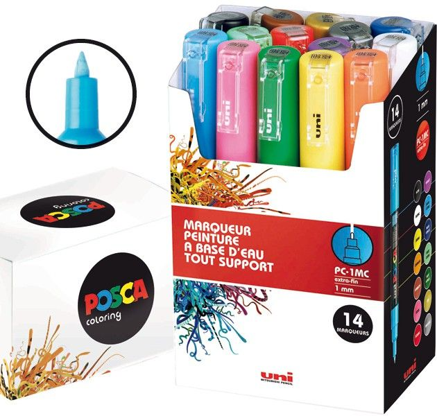 72 best Posca - Marqueurs tous supports images on Pinterest ...