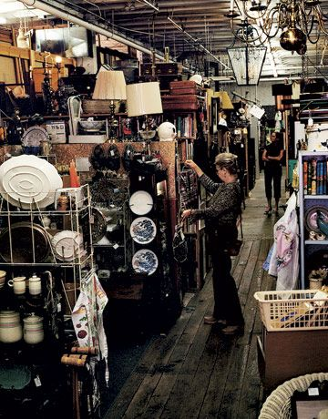 Going to Kansas City: It may be a big city, but this energetic, fun-to-visit Midwestern hub holds tight to its small-town charms...spend hours at River Market Antique Mall, a playground of well-priced vintage finds...photo credit: Brooke Slezak