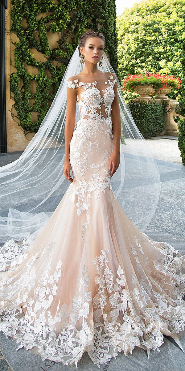 Amazing Milla Nova Wedding Dresses ❤ See more: http://www.weddingforward.com/milla-nova-wedding-dresses/ #weddings