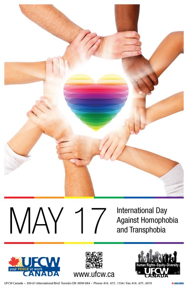 International Day Against Homophobia and Transphobia - May 17
