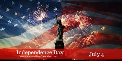 INDEPENDENCE DAY – July 4th 2016