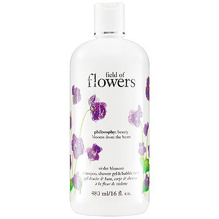 Philosophy Field of Flowers Violet Blossom Shower Gel, 16 Ounce  Price: $18.00 Body Care Tips