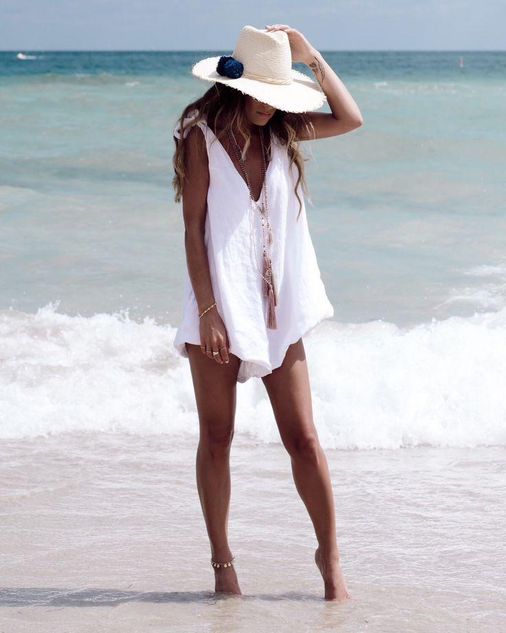 Drifter Jumpsuit, Linen Romper - Ladies Playsuit - White Beach Jumpsuit, V Neck by ljcdesignss on Etsy https://www.etsy.com/ie/listing/279674384/drifter-jumpsuit-linen-romper-ladies