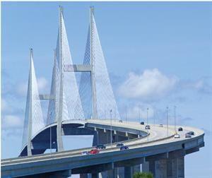 Sidney Lanier Bridge: Brunswick, Georgia